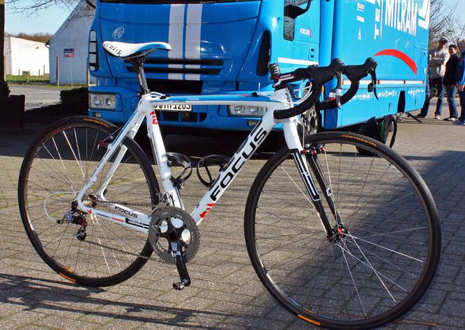 Servais Knaven's Milram Focus Mares Paris-Roubaix