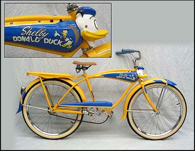 1950 Shelby Donald Duck Bike
